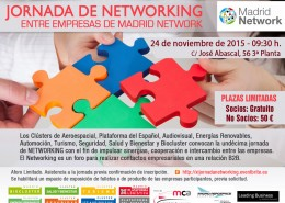XI Jornada de networking Madrid Network